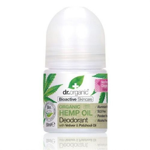 Dr. Organic kendermagolaj golyós dezodor – 50ml